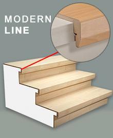 treppe renovieren mit laminatstufen laminatstufen nach ma bestellen. Black Bedroom Furniture Sets. Home Design Ideas