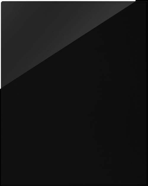 Front kassel hochglanz schwarz wilma for Klebefolie hochglanz schwarz