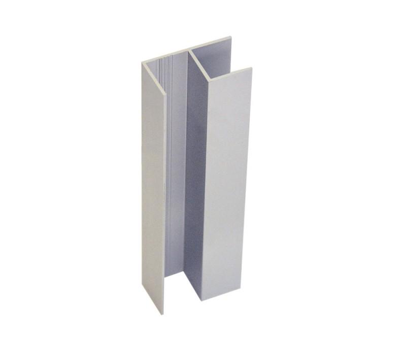 Super Sockelverbinder Eckverbinder 90-Grad Aussen-und Innenecke Aluminium XC78
