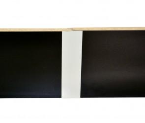 metallic sepia braun f405 - frieda kassel m01 - kassel m01 ... - Sockelverbinder Küche