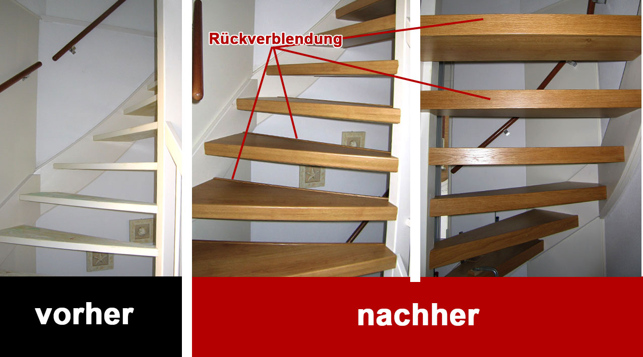 treppe sanieren auentreppe mit betonstufen unsaniert auentreppe nach der sanierung with treppe. Black Bedroom Furniture Sets. Home Design Ideas