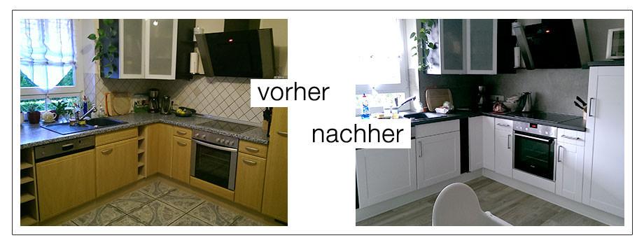 Küche Vorher-Nachher Bilder